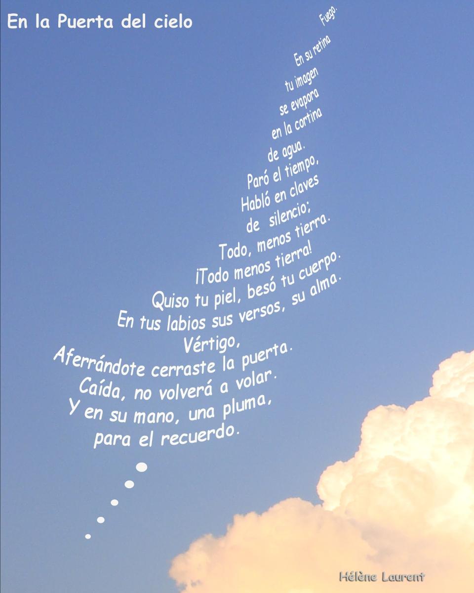 En la puerta del cielo h l ne laurent la poes a no muerde for La camera del cielo