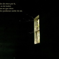 Ventana en la oscuridad, Mateo Gandia