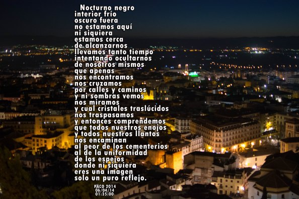Nocturno negro, Paco Ballesteros