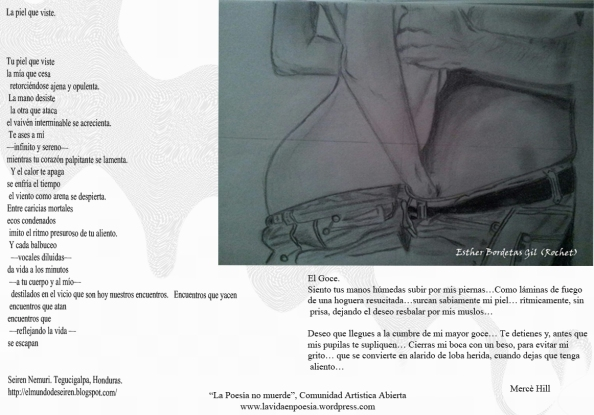 Chico chica, Esther Bordetas Gil, con poemas