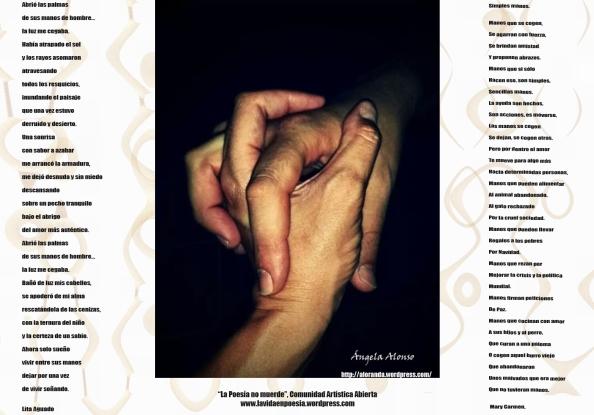 Poemas para manos Angela Alonso
