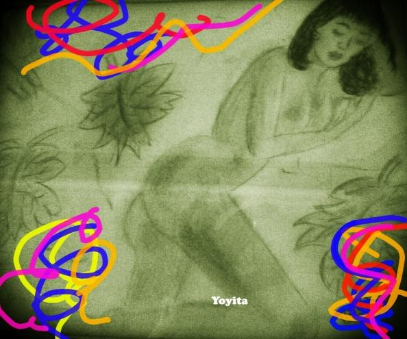 Durmiendo sin saber de nada, sin saber si despertará, Yoyita