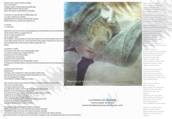 """""""Los miércoles tampoco muerde"""", Creación de poemas colectivos"""