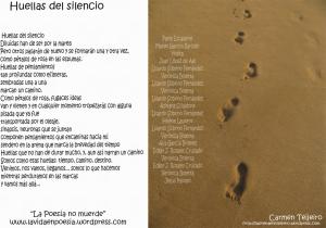 Huellas del silencio, Poema colectivo Pinchad varias veces sobre la imagen para ampliarla.