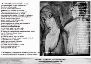 """(Poema colectivo, """"Los miércoles tampoco muerde"""" )"""