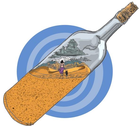 sand-bottle, Fernando Samper