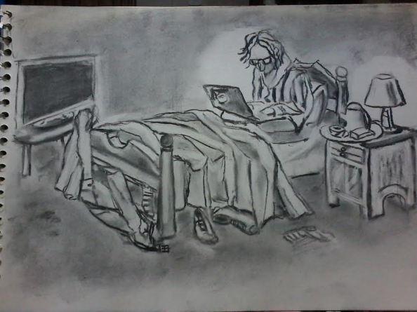 vivo en mi cama, Alejandro Gustavo Paredes
