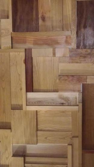 Composición madera, Antinomia (A Coruña, España)