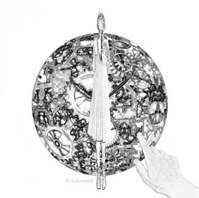 Frágil aguja, Hélène Laurent